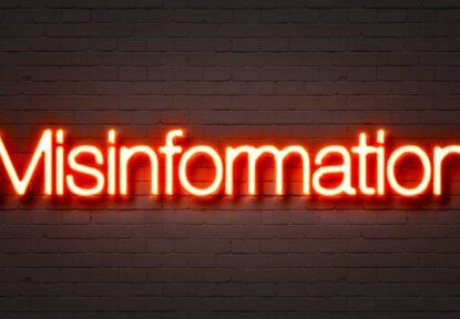 The Myth of Misinformation